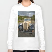 austin Long Sleeve T-shirts featuring Austin 7 by Adrian Evans