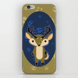 Deer with Hoof Prints iPhone Skin