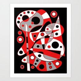Abstract #961 Art Print