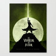 LE VISITEUR DU FUTUR - NO FUTURE Canvas Print