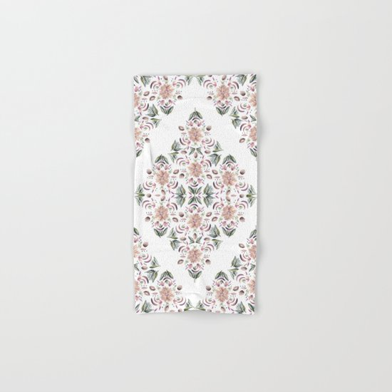Tribe Floral Vibes Hand & Bath Towel
