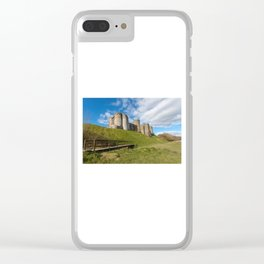 Kidwelly Castle South Wales Clear iPhone Case