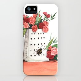 Unexpected Terrarium Bug iPhone Case