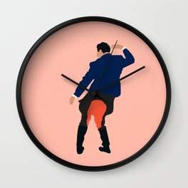 Kidnapping Caucasian Styla Wall Clock