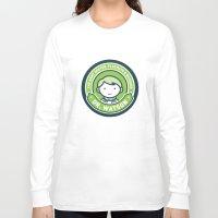 john green Long Sleeve T-shirts featuring Cute John Watson - Green by mydeardear