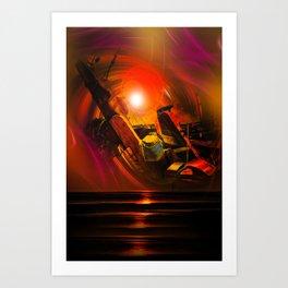 Maritimes Art Print
