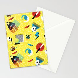 Memphis Gothic Stationery Cards