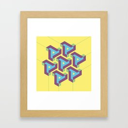 Geometric Play 08 Framed Art Print