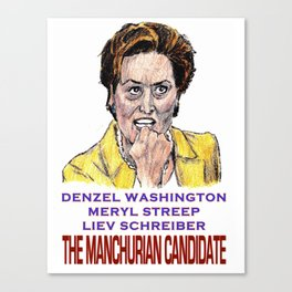The Manchurian Candidate Canvas Print