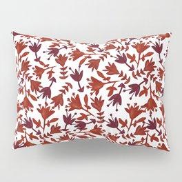 Watercolor Flowers Pillow Sham