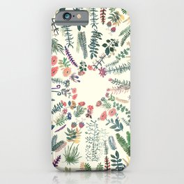 focus garden iPhone Case