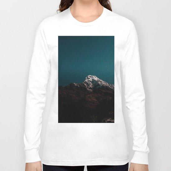 Dark Mountains #society6 #buyart Long Sleeve T-shirt