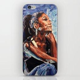 i'm jus thinkin bout u iPhone Skin