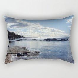 View from Ingaro Beach Rectangular Pillow