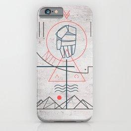 Holy Trinity symbol iPhone Case