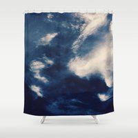 earth Shower Curtains featuring Earth  by Jane Lacey Smith