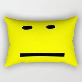 anxiety awareness face Rectangular Pillow