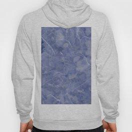 Maura Azzurro blue marble Hoody