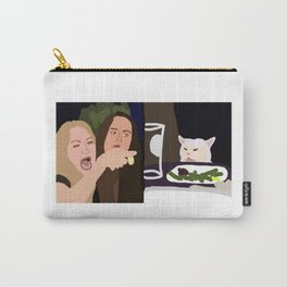 Yelling Woman - Cat Carry-All Pouch