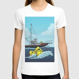 Jaws: Orca Illustration T-shirt