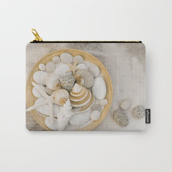 Sea Shell Collection Beach Summer Still Life Carry-All Pouch