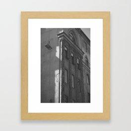 Budapest Corners Framed Art Print