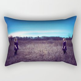 Parallels Rectangular Pillow