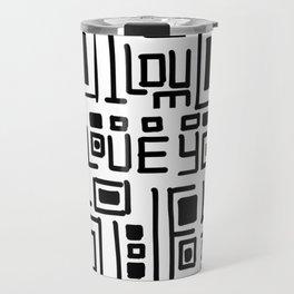 I love you code Travel Mug