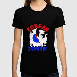 korean zombie shirt T-shirt