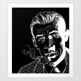Benny Inked - Inverted Inks Art Print