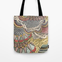 Quilted Forest: The Rabbit Tote Bag