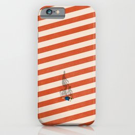Cycling The City iPhone Case