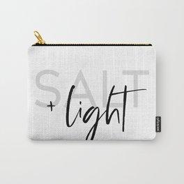 Salt + Light - Matthew 5:13-16 Carry-All Pouch