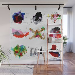 9 abstract rituals Wall Mural