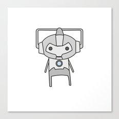 Cyberman Canvas Print