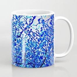Blue crystal tree Coffee Mug