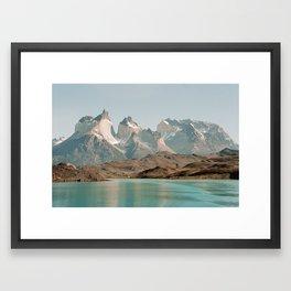 TORRES SUNSET Framed Art Print