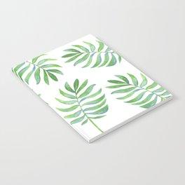 Tropical Palm Leaf Notebook