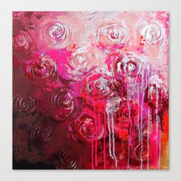 Magenta's touch Canvas Print