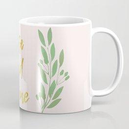Rise and shine | motivational print | handlettering Coffee Mug