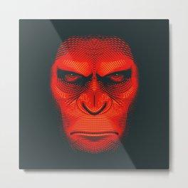 Planet of the Apes | Caesar Metal Print