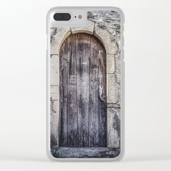 Old French Door Clear iPhone Case