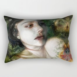 """The moment (portrait)"" Rectangular Pillow"