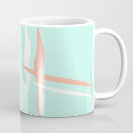 Turquoise & Coral (2) Coffee Mug