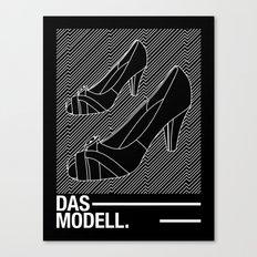 Das modell Canvas Print