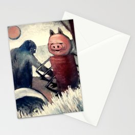 Absurd Composition Stationery Cards