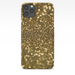 Gold Sparkle Pattern iPhone Case