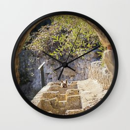 I see you. Wall Clock
