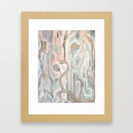 Organic 5 Framed Art Print