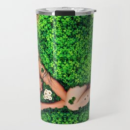 Birth of a New Dawn Female Portrait Travel Mug